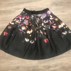 ⚡️ sale Ted Baker layered Floral Skirt